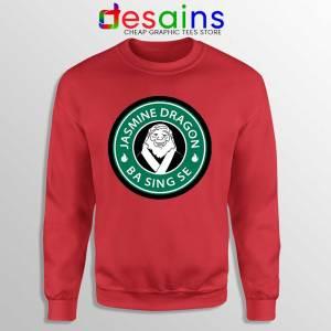 The Jasmine Dragon Red Sweatshirt Uncle Iroh Avatar Starbucks