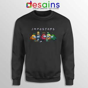 Among Us Crewmates Sweatshirt Friends Impostor Sweaters