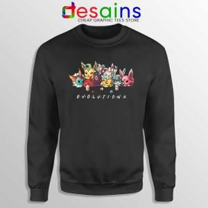 Eevee Evolution Friends Sweatshirt Pokémon Go Sweaters