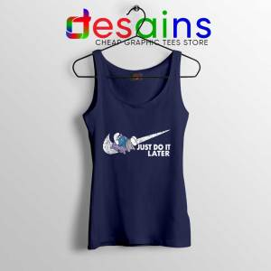 Just Do it Later Smurf Tank Top The Smurfs Sleep Tops