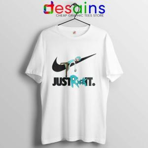 Just Rick It Morty Tshirt Just Do it Nike Meme Tee Shirts