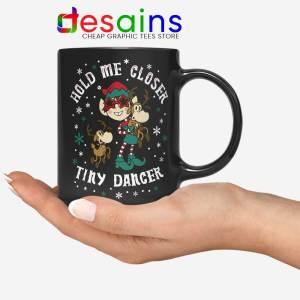 Tiny Dancer Elf Christmas Mug Reindeer Cartoon Xmas Coffee Mugs