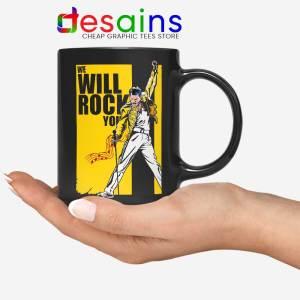 We Will Rock You Mug Freddie Mercury Kill Bill Coffee Mugs