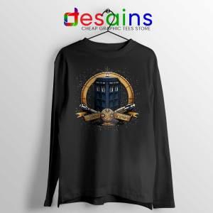 Allons y Geronimo Tardis Long Sleeve Tee Doctor Who T-shirts