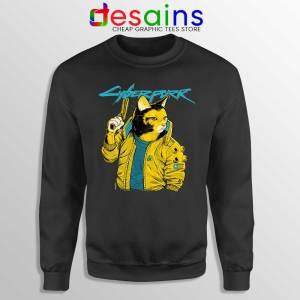 Cyberpurr 2077 Sweatshirt Cyberpunk Game Cats Sweaters