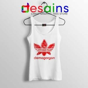 Demogorgon Adidas Tank Top Stranger Things Three Stripes
