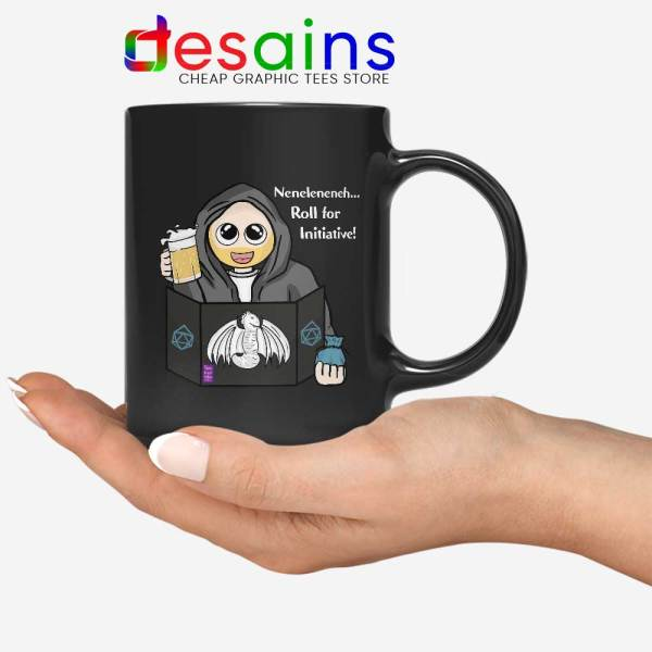 DnD Roll for Initiative Mug Dungeon Master Game Coffee Mugs