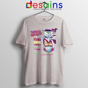 Harley Quinn Hideaway Sport Grey Tshirt Bar and Grill Tee Shirts DC