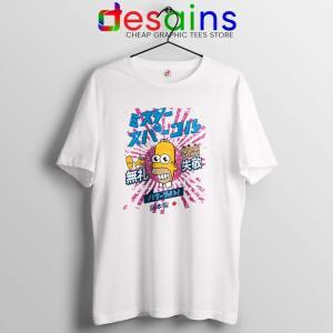 Homer Simpson Mr Sparkle Tshirt Rising Sun Tee Shirts