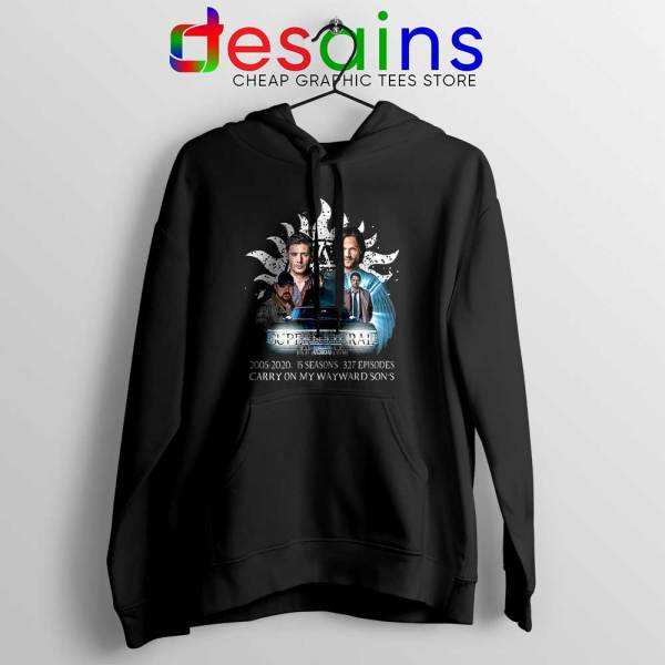 Supernatural Family Hoodie Dont End With Blood 4W Jacket