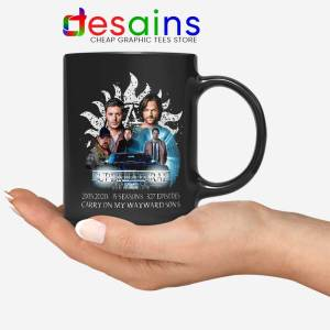 Supernatural Family Mug Dont End With Blood 4W Coffee Mugs