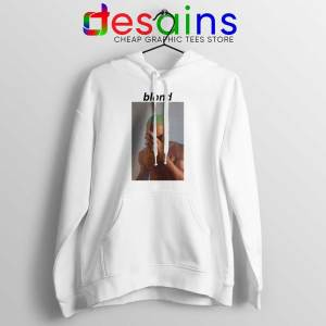 Blonde Frank Ocean White Hoodie Graphic Jacket