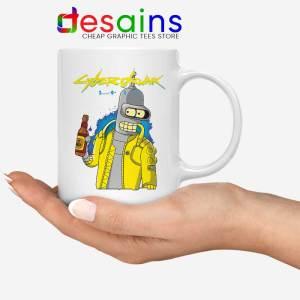 Cyberpunk 2077 Bugs White Mug Cyberdrunk Coffee Mugs