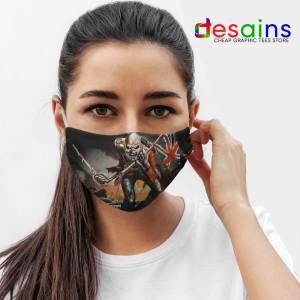 Invasion of Rarities Skull Iron Maiden Mask Cloth