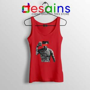 Lil Baby Money Red Tank Top American Rapper