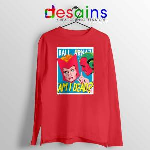 Lucille Ball Desi Arnaz Red Long Sleeve Tee
