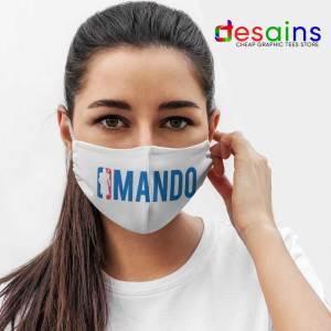 Mando NBA Logo Mask Cloth The Mandalorian