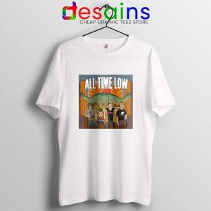 All Time Low Don t Panic Tour T Shirt Band Merch