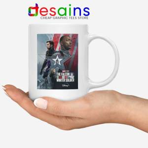 Falcon and Winter Soldier Graphic Mug Disney+ Marvel