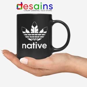 Native American Adidas Mug Indians Logo