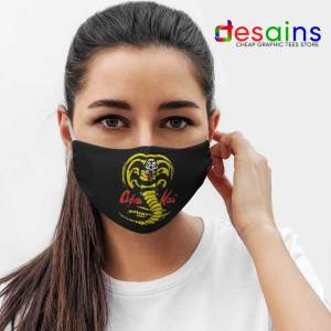 Cobra Kai TV Show Mask Cloth Netflix Karate Kid