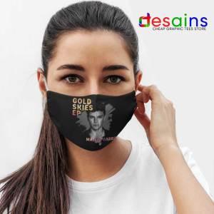 Gold Skies Martin Face Mask Cloth Dj World Merch