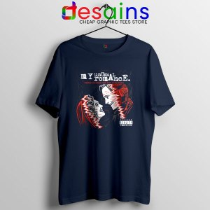 Romance WandaVision Navy T Shirt Vision and Scarlet Witch