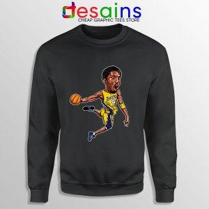 Best Kobe Bryant Game Dunk Black Sweatshirt NBA Lakers