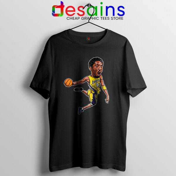 Best Kobe Bryant Game Dunk Black T Shirt NBA Lakers
