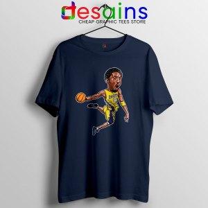 Best Kobe Bryant Game Dunk Navy T Shirt NBA Lakers