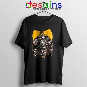 Cheap Wu Tang NY Yankees Black T Shirt Baseball Merch