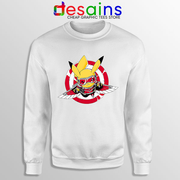 The Falcon Pikachu Sweatshirt Funny Pokemon