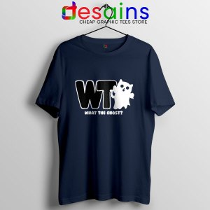 What The Ghost Navy T Shirt The Magnus Archives