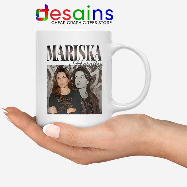 Buy Mariska Hargitay Merch Mug Law and Order Svu