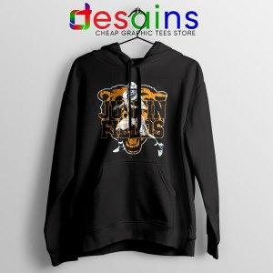 Cheap Justin Fields NFL Black Hoodie Chicago Bears