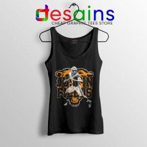 Cheap Justin Fields NFL Black Tank Top Chicago Bears