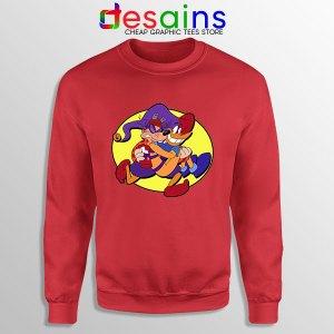 Darkwing Duck Quackerjack Red Sweatshirt Ratcatcher