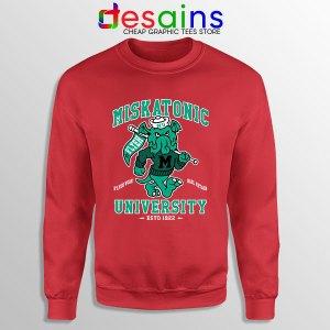 Miskatonic University Cthulhu Red Sweatshirt R'lyeh