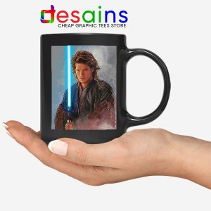 Star Wars Chosen One Black Mug Jedi Prophecy