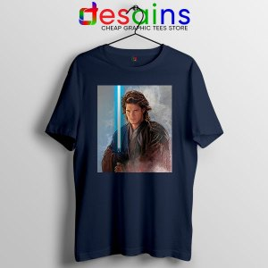 Star Wars Chosen One Navy T Shirt Jedi Prophecy