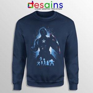 The Super Soldier Avengers Navy Sweatshirt Captain America