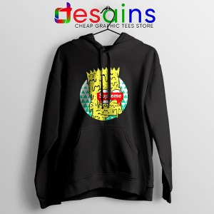 Bart Simpson in Fashion Hoodie The Simpsons