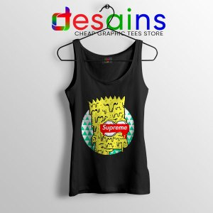 Bart Simpson in Fashion Tank Top The Simpsons