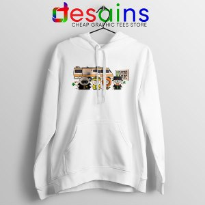 Breaking Bad Characters Animated Hoodie South Park