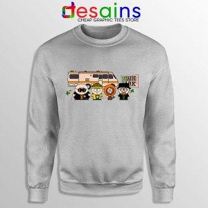 Breaking Bad Characters Animated Sport Grey Sweatshirt South Park