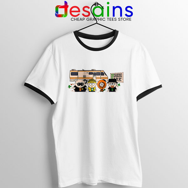 Breaking Bad Park Animated Ringer Tee South Park