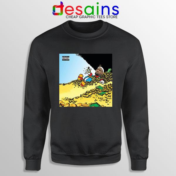Mach Hommy X ThaGodFahim Black Sweatshirt Dollar Menu 2