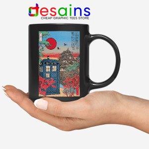 Tardis Blue Paint Japan Black Mug Doctor Who BBC