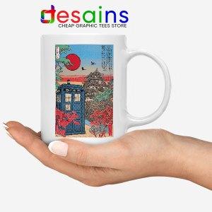 Tardis Blue Paint Japan Mug Doctor Who BBC