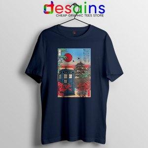 Tardis Blue Paint Japan Navy T Shirt Doctor Who BBC